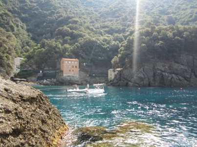 San Fruttuoso, Italy- I still cannot believe I took such an amazing photo. This little village in Italy has such a beauty all in it's own that it is easy to take an amazing photo here