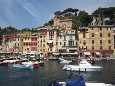 Portofino, Italy- Another beautiful town in Northern Italy. The colors of the all the buildings just make this an easy place to photograph
