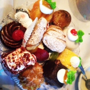 Assortment of Italian Pastries