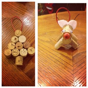 Cork Ornaments